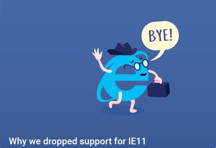 internet explorer end